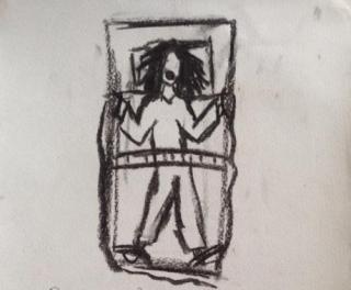 אשפוז בכפיה - קשירה למיטה