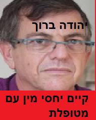 פסיכיאטר יהודה ברוך מנהל מוסד פסיכיאטרי אברנאל בת ים קיים יחסי מין עם חוסה