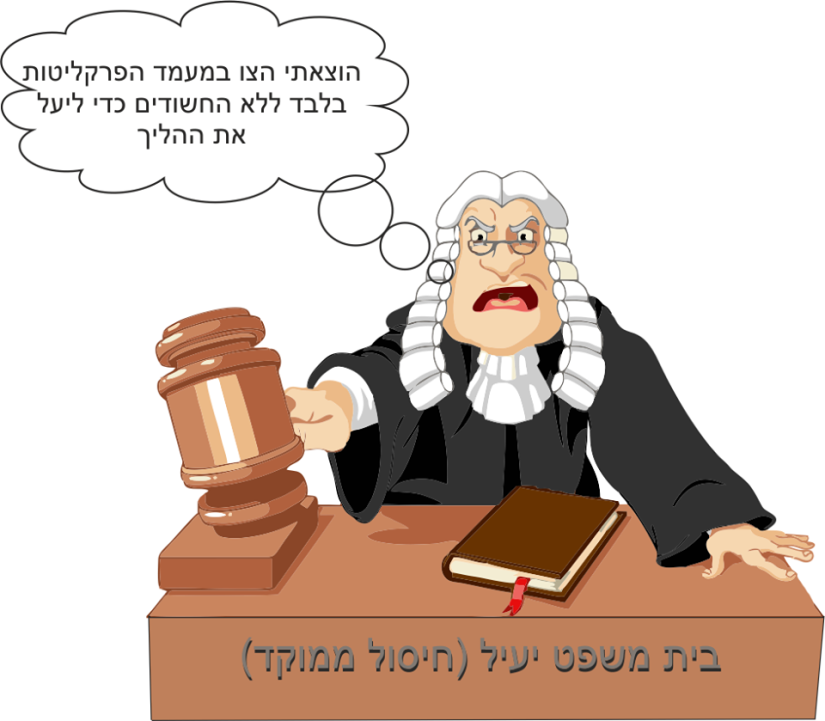 בית משפט יעיל - חיסול ממוקד